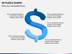 3D Puzzle Shapes PPT Slide 13