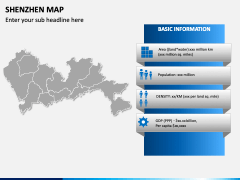Shenzhen Map PPT Slide 3