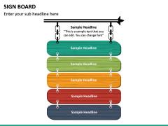 Sign Board PPT Slide 16