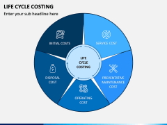 Life Cycle Costing PPT Slide 1