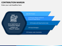 Contribution Margin PPT Slide 6