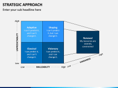Strategic Approach PPT Slide 1