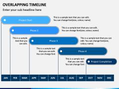 Overlapping Timeline PPT Slide 2