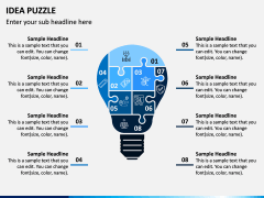 Idea Puzzle PPT Slide 7