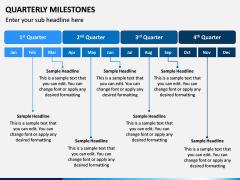 Quarterly Milestone PPT Slide 7