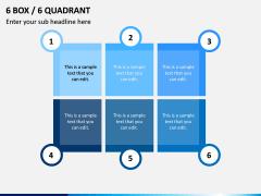 6 Box / 6 Quadrant PPT Slide 1