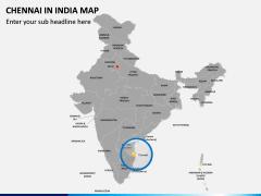 Chennai Map PPT Slide 4