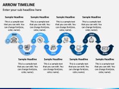 Arrow Timeline PPT Slide 7