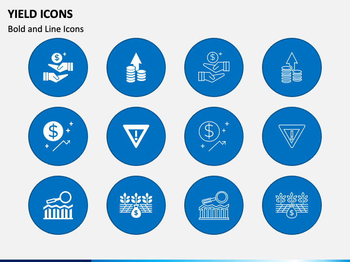 Yield Icons Slide