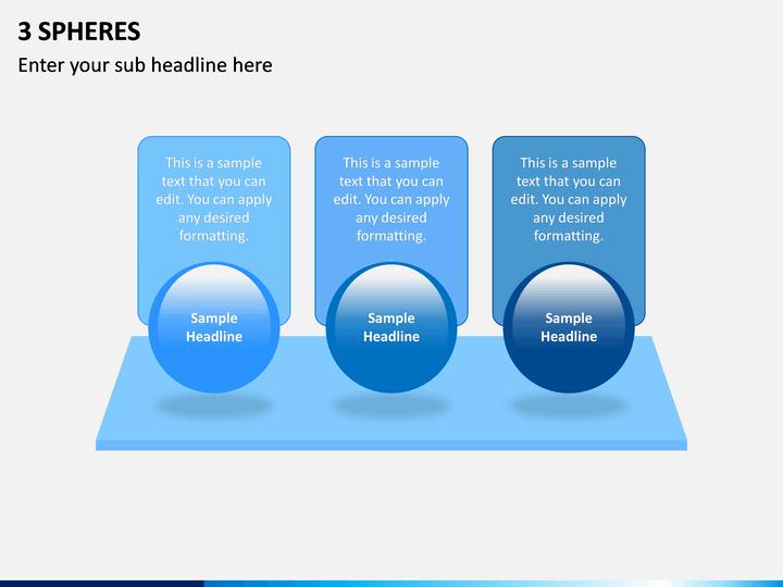 3 Spheres PPT Slide 1