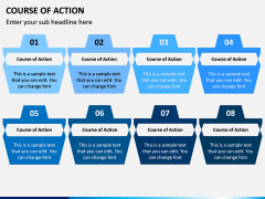 Course of Action PPT Slide 8