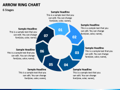 Arrow Ring Chart PPT Slide 5