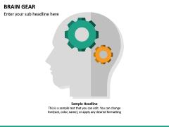 Brain Gear PPT Slide 4