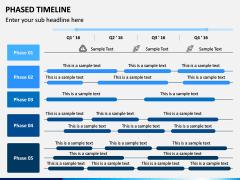 Phased Timeline PPT Slide 4