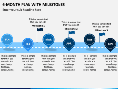 6 Month Plan With Milestones PPT Slide 4