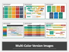 Marketing Roadmap Multicolor Combined