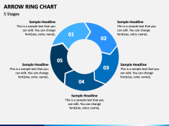 Arrow Ring Chart PPT Slide 3