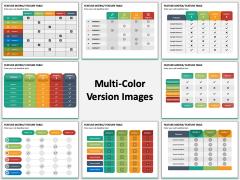 Features Matrix Multicolor Combined