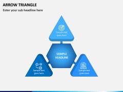 Arrow Triangle PPT Slide 1