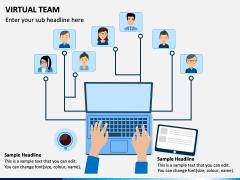 Virtual Team PPT Slide 5