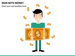 Man with Money PPT Slide 3