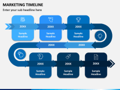 Marketing Timeline PPT Slide 1