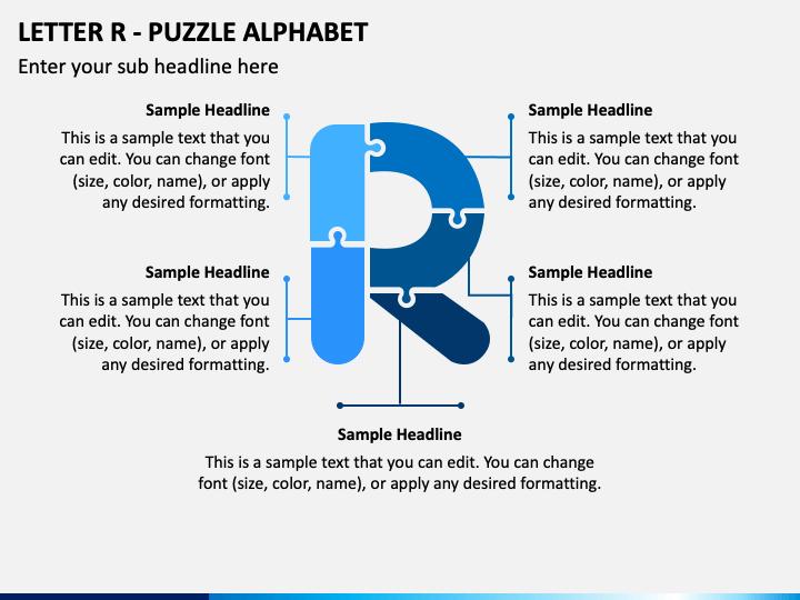Letter R - Puzzle Alphabet PPT Slide 1