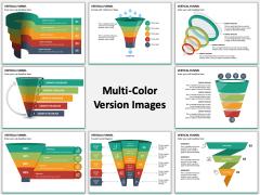 Vertical Funnel PPT Slide MC Combined