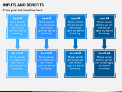 Inputs and Benefits PPT Slide 2