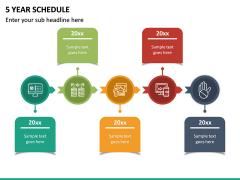 5 Year Schedule PPT Slide 2