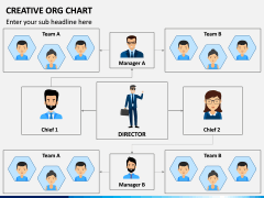 Creative Organizational Chart PPT Slide 4