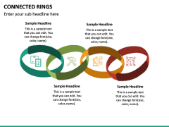 Connected Rings PPT Slide 6