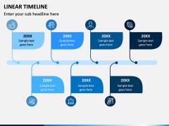 Linear Timeline PPT Slide 5