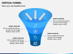 Vertical Funnel PPT Slide 4