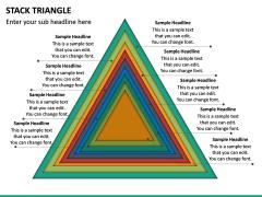 Stack Triangle PPT Slide 4