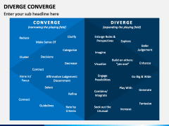 Diverge Converge PPT Slide 1