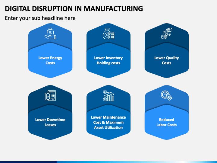 Digital Disruption In Manufacturing PPT Slide 1