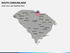 South Carolina Map PPT Slide 3