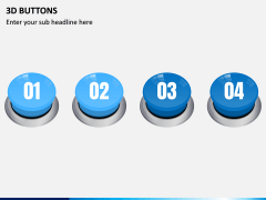 3d Buttons PPT Slide 1