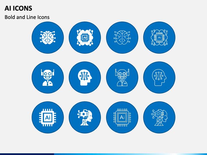 AI Icons PPT Slide 1