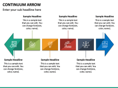 Continuum Arrow PPT Slide 4