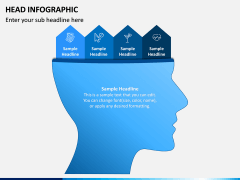 Head Infographics PPT Slide 9