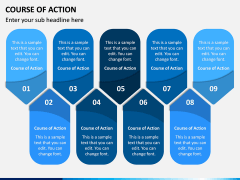 Course of Action PPT Slide 9