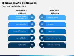Being Agile and Doing Agile PPT Slide 4