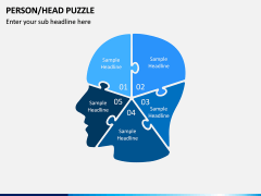 Head Puzzle PPT Slide 3