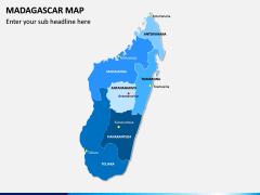 Madagascar Map PPT Slide 2
