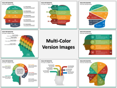 Head Infographics Multicolor Combined