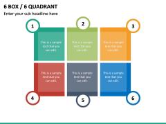 6 Box / 6 Quadrant PPT Slide 2