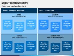 Sprint Retrospective PPT Slide 3