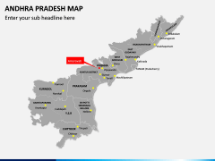 Andhra Pradesh Map PPT Slide 3
